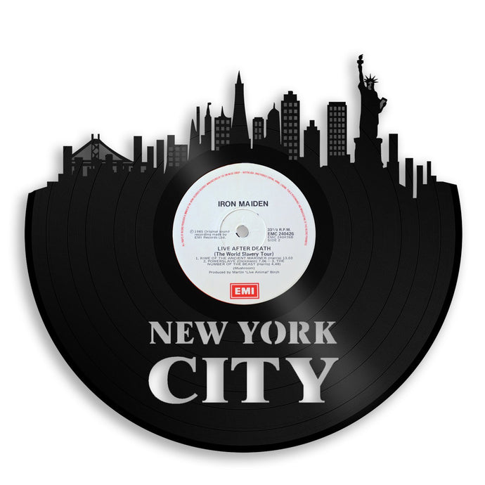 New York City Skyline NYC Wall Art - VinylShop.US