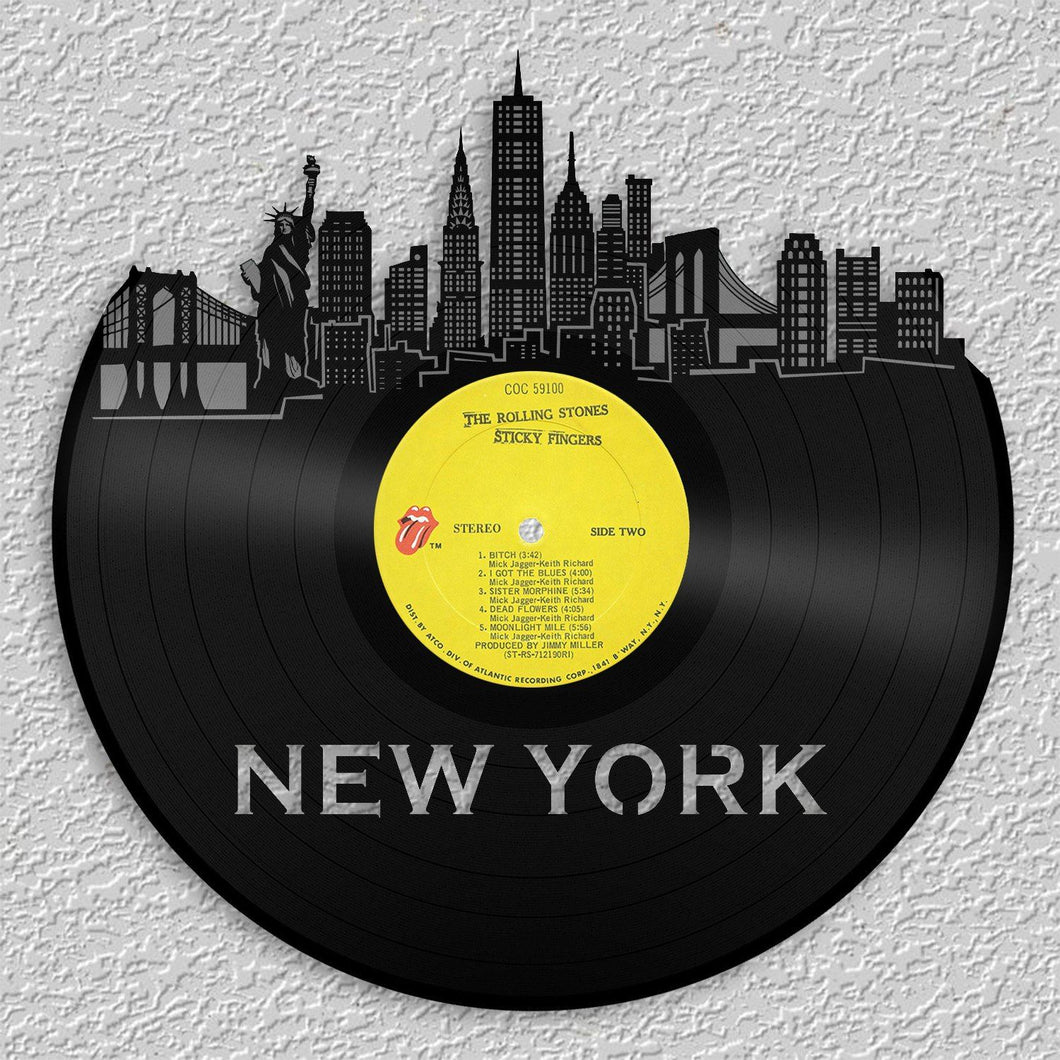 New York City Skyline Wall Art Updated – VinylShop.US