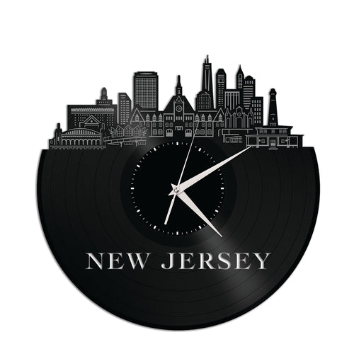 New Jersey Vinyl Wall Clock - VinylShop.US