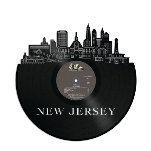 New Jersey Vinyl Wall Art - VinylShop.US