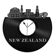 New Zealand Vinyl Wall Clock