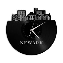 Newark DE Vinyl Wall Clock