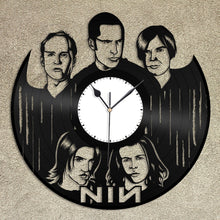 Nine Inch Nails Vinyl Wall Clock - VinylShop.US