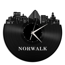 Norwalk Vinyl Wall Clock - VinylShop.US