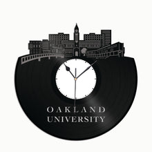 Oakland University Vinyl Wall Clock