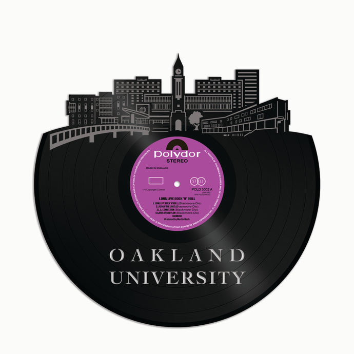 Oakland University Vinyl Wall Art