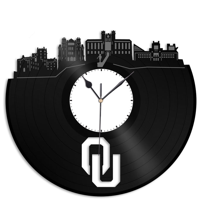 Oklahoma University Vinyl Wall Clock - VinylShop.US