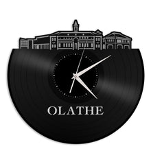 Olathe KS Vinyl Wall Clock