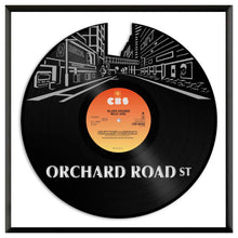 Orchard Road Street Vinyl Wall Art