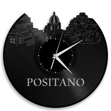 Unique Vinyl Wall Clock Positano
