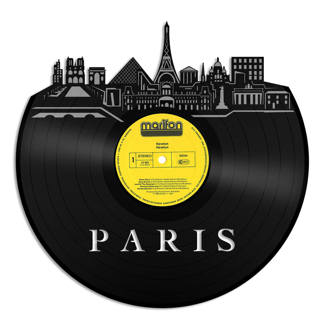 Paris New Vinyl Wall Art – VinylShop.US