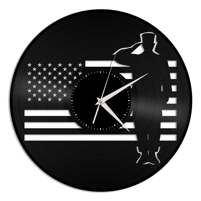 Patriots Vinyl Wall Clock - VinylShop.US