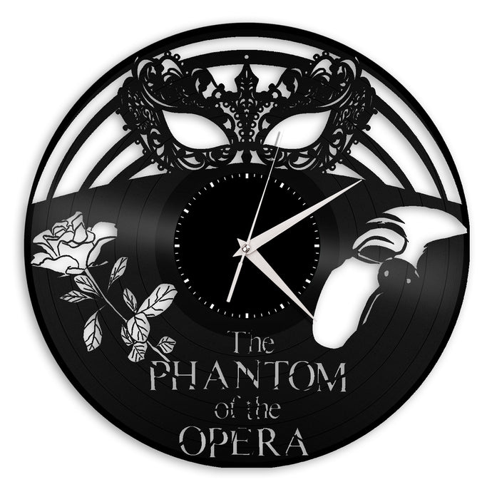 Phantom of the Opera Vinyl Wall Clock - VinylShop.US