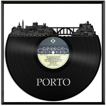 Porto Portugal skyline Vinyl Wall Art - VinylShop.US