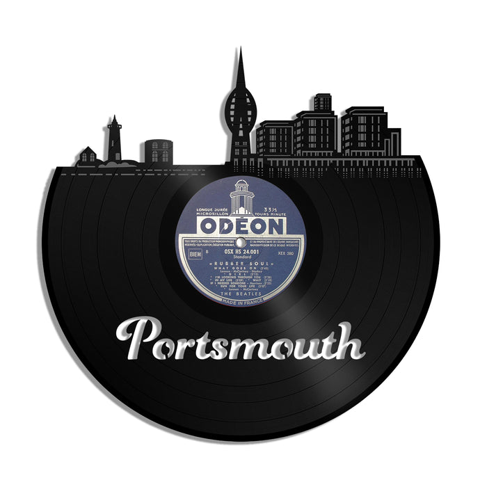 Portsmouth NH Vinyl Wall Art - VinylShop.US