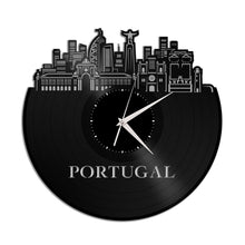 Portugal Vinyl Wall Clock