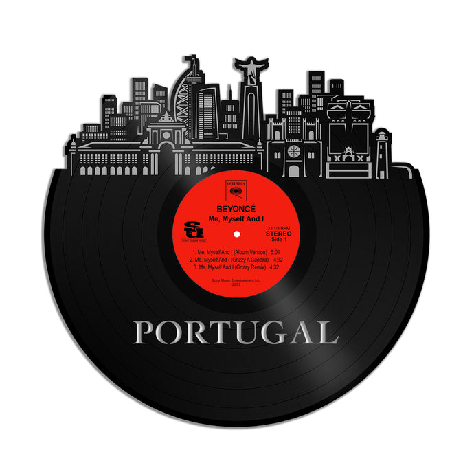 Portugal Vinyl Wall Art