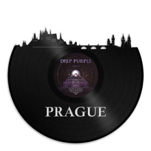 Prague Skyline Vinyl Wall Art - VinylShop.US