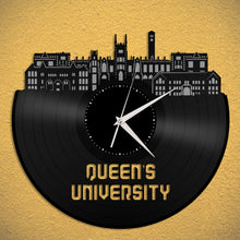 Queen's University Canada Vinyl Wall Clock - VinylShop.US