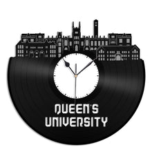 Queen's University, Canada Vinyl Wall Clock - VinylShop.US