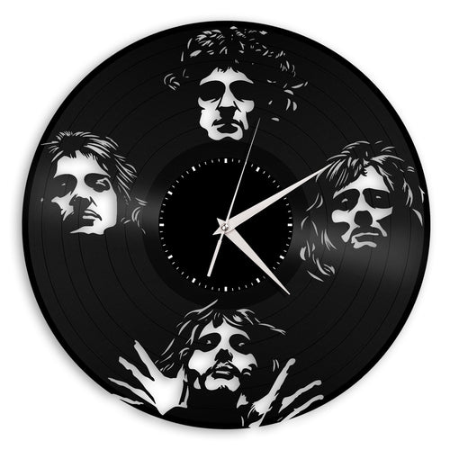 Queen Band Vinyl Wall Clock - VinylShop.US