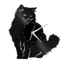 Ragdoll Cat Vinyl Wall Clock