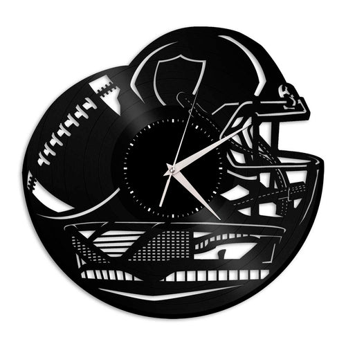 Raiders NFL Vinyl Wall Clock