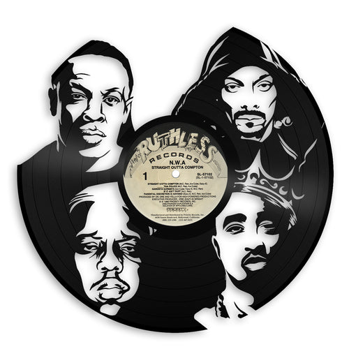 Rappers Vinyl Wall Art - VinylShop.US