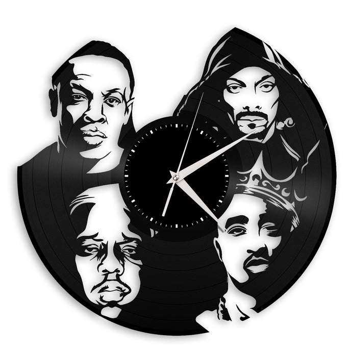 Rappers Vinyl Wall Clock - VinylShop.US