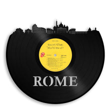 Rome Skyline Vinyl Wall Art - VinylShop.US