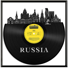 Russia Vinyl Wall Art