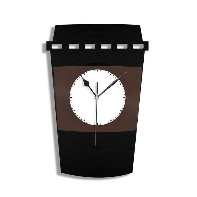 Starbucks Time Vinyl Wall Clock - VinylShop.US
