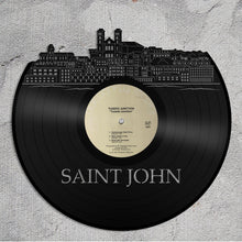 Saint John Skyline Vinyl Wall Art - VinylShop.US