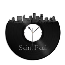 Saint Paul Minnesota Vinyl Wall Clock - VinylShop.US