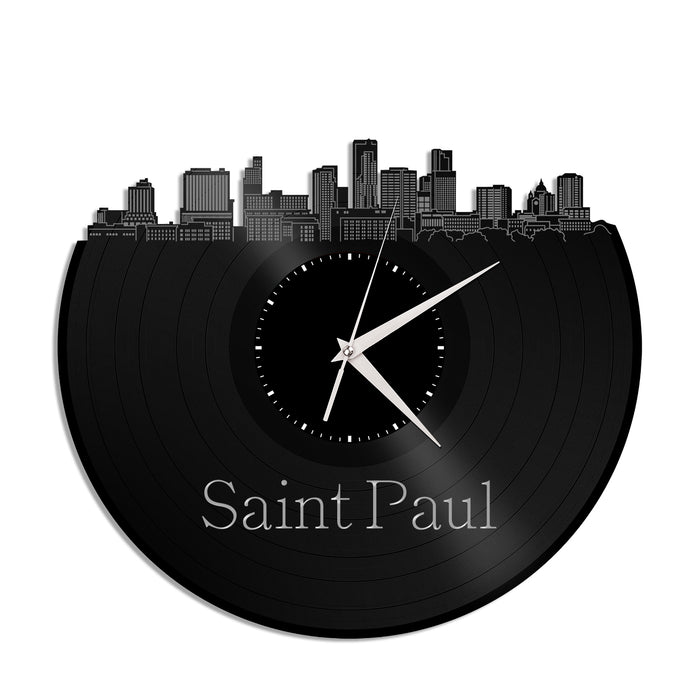 Saint Paul Minnesota Vinyl Wall Clock