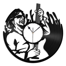 Sammy Hagar Vinyl Wall Clock