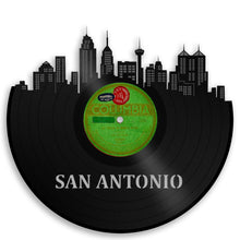 San Antonio Skyline Vinyl Wall Art - VinylShop.US