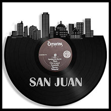San Juan Skyline Vinyl Wall Art