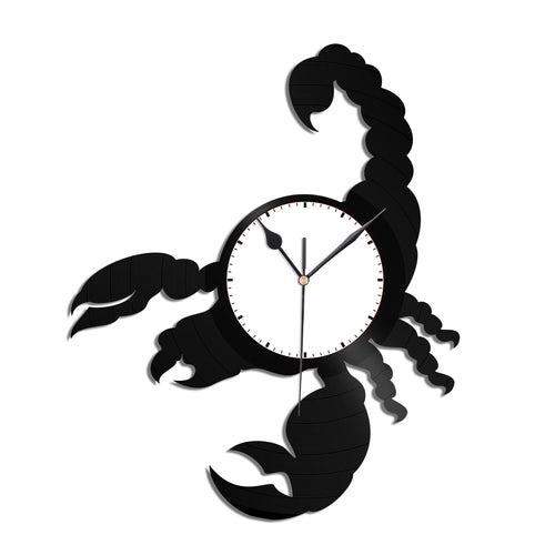 Scorpion Vinyl Wall Clock - VinylShop.US