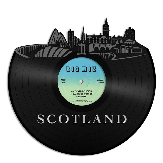 Scotland Vinyl Wall Art - VinylShop.US