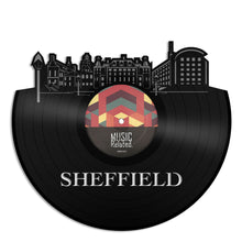 Sheffield Skyline Vinyl Wall Art - VinylShop.US