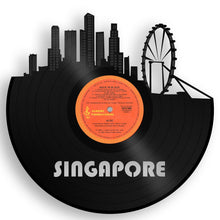 Singapore Skyline Vinyl Wall Art - VinylShop.US