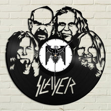 Slayer Vinyl Wall Clock