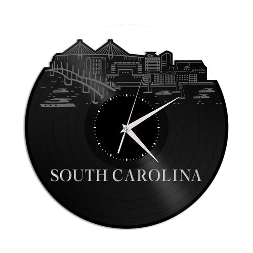 South Carolina Vinyl Wall Clock - VinylShop.US