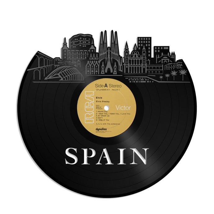 Spain Vinyl Wall Art - VinylShop.US