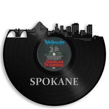Spokane Skyline Vinyl Wall Art - VinylShop.US