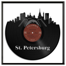 St Petersburg Skyline Vinyl Wall Art - VinylShop.US