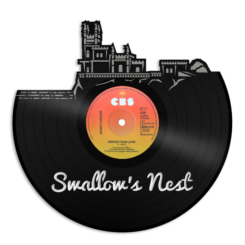 Swallow's Nest Skyline Vinyl Wall Art