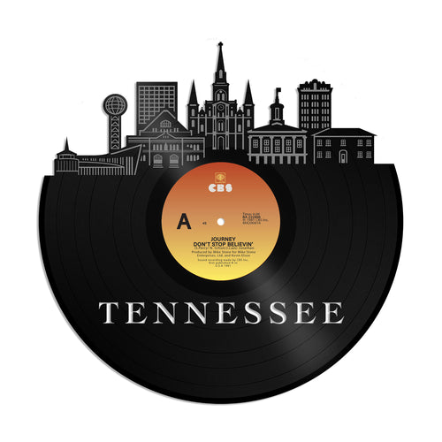 Tennessee Skyline Vinyl Wall Art - VinylShop.US