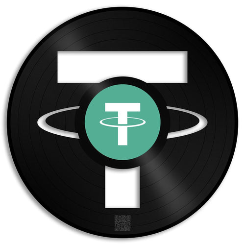 Tether Coin Wall Art - VinylShop.US